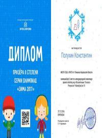"""Полухин Константин, проект intolimp.org """"Русский язык 10 класс"""""""