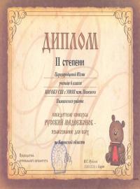 Царегородцева Юлия, 6 класс