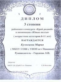 Кузнецова Мария